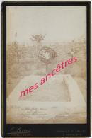 A Voir Grand CDV (cab)-tombe De Joseph SCHAFFNER Mort Bammako 1886 1er RI De Marine-lire-photo Perrot à Creil - Guerre, Militaire