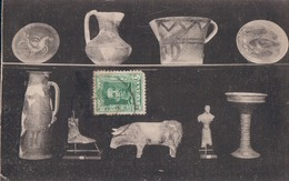 Soria Museo Numantino: Timbre Zegel Stamp On Front - Ganzsachen