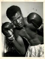 GRANDE PHOTO BOXEUR TOMMY HURRICANE JACKSON FORMAT  23 X 18 CM - Sports
