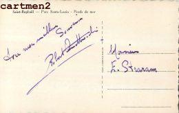 AUTOGRAPHE DEDICACE ROBERT ? WALTER STRARAM MUSIQUE OPERA CHEF ORCHESTRE MUSICIEN COMEDIEN THEATRE - Autographs