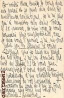 AUTOGRAPHE DEDICACE SIMONE WALTER STRARAM MUSIQUE OPERA PARIS CHEF ORCHESTRE THEATRE COMEDIEN PEINTRE ARTISTE MUSIC - Autographes