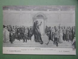 PANTHEON DE LA GUERRE . 1918 - RUSSIE - P. CARRIER-BELLEUSE A.F. GORGUET - Guerre 1914-18