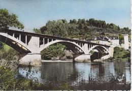 CPSM Beaulieu-sur-Dordogne (En Passant Par ...) - Le Pont Sur La Dordogne (plan Peu Courant) - Sonstige Gemeinden