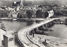 FUMAY -PONT PROVISOIRE RECONSTRUIT PAR LE GENIE FRANCAIS EN 1942  CPSM - Fumay