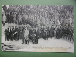 PANTHEON DE LA GUERRE . 1918 - LE PRESIDENT DE LA REPUBLIQUE - P. CARRIER-BELLEUSE A.F. GORGUET - Guerre 1914-18
