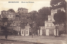 MOUREPIANE  MONTEE DES PECHEURS CARTE ANIMEE - France