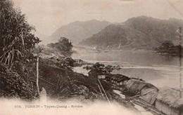 TONKIN.  576. - Tuyen-Quang  - Rivière - Vietnam
