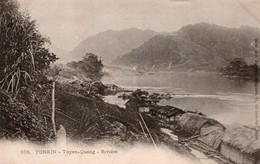 TONKIN.  576. - Tuyen-Quang  - Rivière - Viêt-Nam