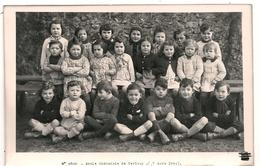 Carte Photo 79 Cerizay école Communale 1944 - Cerizay