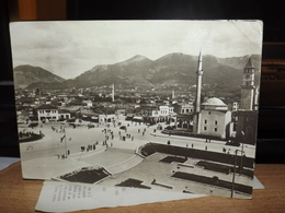 CARTOLINA TIRANA TIRANE PANORAMA ALBANIA ALBANY - Albania
