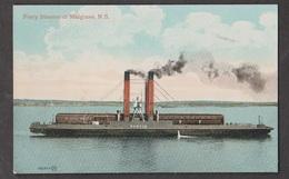 Railcar Ferry SS Scotia At Mulgrave - Very Scarce Card - Cape Breton