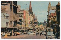 AUSTRALIA/VIC. - MELBOURNE - SWANSTON STREET /OLD CARS / TRAM - Melbourne