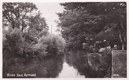 Postcard The River Idle Retford Nottinghamshire RA Series RP My Ref  B12105 - Other