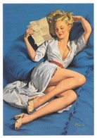 Pin Up De Gil Elvgren : He Thinks I'm Too Good To Be True .... 1957 (2 Scans) - Pin-Ups