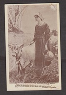Scene & Quote From Longfellow's Evangeline # 4 - Unused - Fairy Tales, Popular Stories & Legends