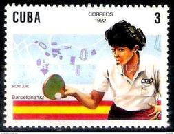 1280  Ping Pong - Tennis De Table - 1992 - MNH - Free Shipping - 1,25 - Tafeltennis