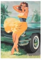 Pin Up De Bill Medcalf : Circa 1960 (2 Scans) - Pin-Ups