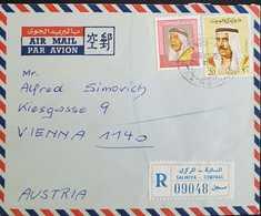 Kuwait Registered Letter To Austria - Koweït