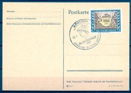 ALEMANIA , 1943 , MUNICH , DIA DEL SELLO , MAT. CONMEMORATIVO - Briefe U. Dokumente