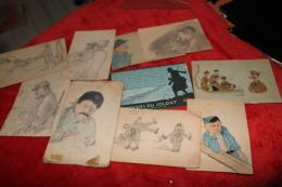 Lot De Petits Dessins Entre 1914 Et 1940 - 1914-18