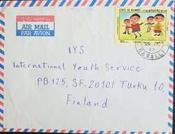 Kuwait 1982 Letter To Finland. - Koweït