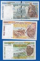 Mali  3  Billets - Mali