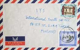 Kuwait Letter To Finland. - Kuwait