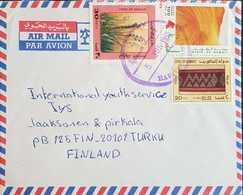 Kuwait 1995 Letter To Finland. - Kuwait