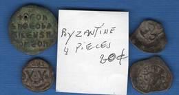 Byzantines  4  Pieces - Bizantinas