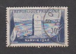 France Oblitérés - N° 922 - Bataille De Narvik - 1952 - TB - Gebruikt