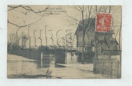 """Amfreville-sous-les-Monts (27) : La Villa Bourgeoise Dite """"Propriété Cartier"""" Inondée En 1910  PF. - France"""