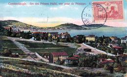 CONSTANTINOPLE - Iles Des Princes Halki, Vue Prise De Prinkipo. - Turquia