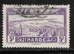 French Morocco, Scott # C18 Used Rabat Tower, 1933 - Marocco (1891-1956)