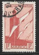 French Morocco, Scott # C21 Used Storks, 1939 - Marocco (1891-1956)