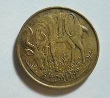 Ethiopia 10 Cents 1977 - Ethiopia