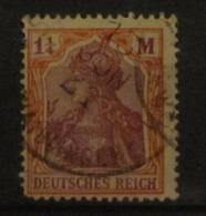 1920, DR Reich Inflation Mi. 151 Y (Vierpaß-Wz), Stempel Nicht Prüfbar / Not Signable, Value 1000,- - Allemagne