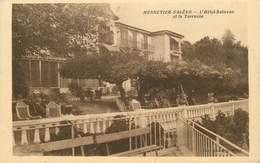 """CPA FRANCE 74 """"Monnetier, Hotel Bellevue"""" - Autres Communes"""