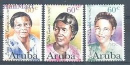 Aruba 1996 Mi 182-184 MNH ( ZS2 ARB182-184 ) - Femmes Célèbres