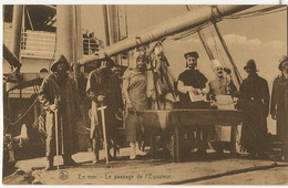 Shipping Compagnie Maritime Belge Vers Congo Passage Equateur Edit Thill Nels - Congo - Kinshasa (ex Zaire)