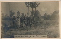 Real Photo Village De Paillotes - Tchad