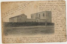 Triaga Bordj Du Controle Civil Bel Affranchissement 4 Timbres 1904 Vers Mattei Delegation Française Mogador Edit Sfax - Tunisie