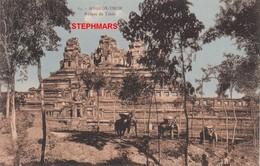 CPA : N°64 - CAMBODGE - ANGKOR THOM - RUINES DE TAKÉO - édition ? - Cambodia