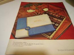 ANCIENNE PUBLICITE CHOCOLAT DE KOHLER 1958 - Posters