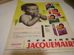 ANCIENNE PUBLICITE  REPAS INFANTILLES DE JACQUEMAIRE 1960 - Posters
