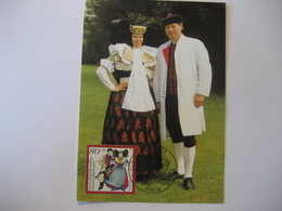 Deutschland BRD Maxicard 1994- FDC Maxicard Wohlfahrtspflege - Maximumkarten (MC)