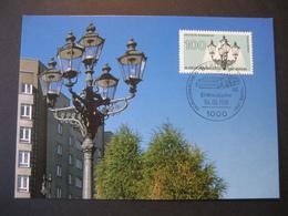 Deutschland BRD Maxicard 1991- FDC Maxicard - Weltgaskongress - Maximumkarten (MC)