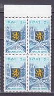 N°1916 Région: La Franche-Comté: Bloc De 4  Timbres Neuf Sans Charnière - Unused Stamps