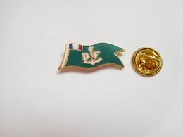 Beau Pin's En EGF , Marine Bateau , Oriflamme , DF , Ancre De Marine - Barcos