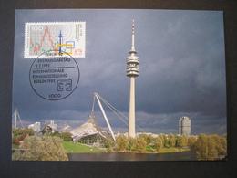 Deutschland BRD Maxicard 1991- FDC Maxicard - Internationale Funkausstellung - Maximumkarten (MC)