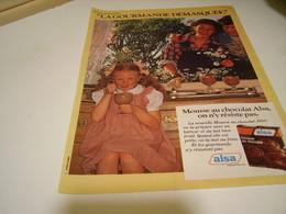 ANCIENNE PUBLICITE LA GOURMANDISE  ALSA 1979 - Affiches